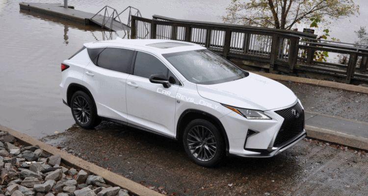 2017 Lexus RX-L Renderings