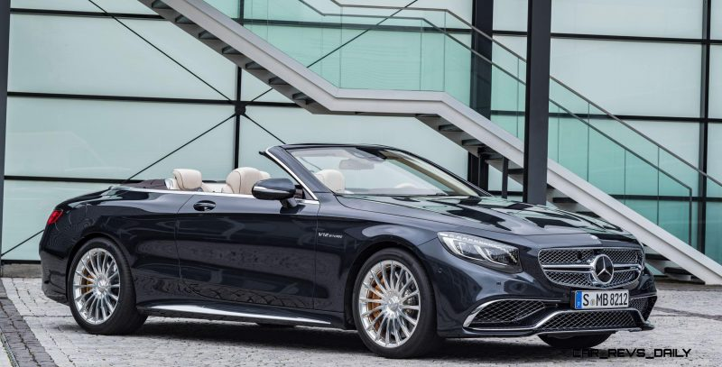 2017 Mercedes-AMG S65 Cabriolet 12