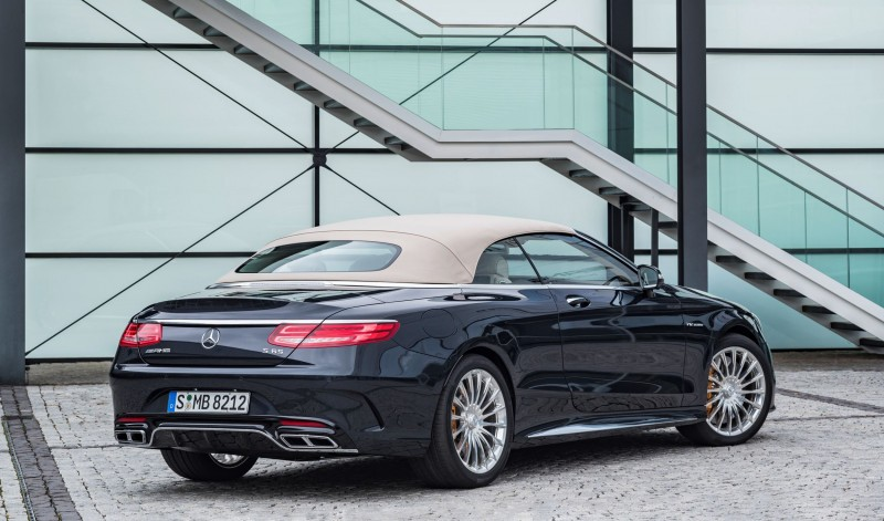 2017 Mercedes-AMG S65 Cabriolet 13