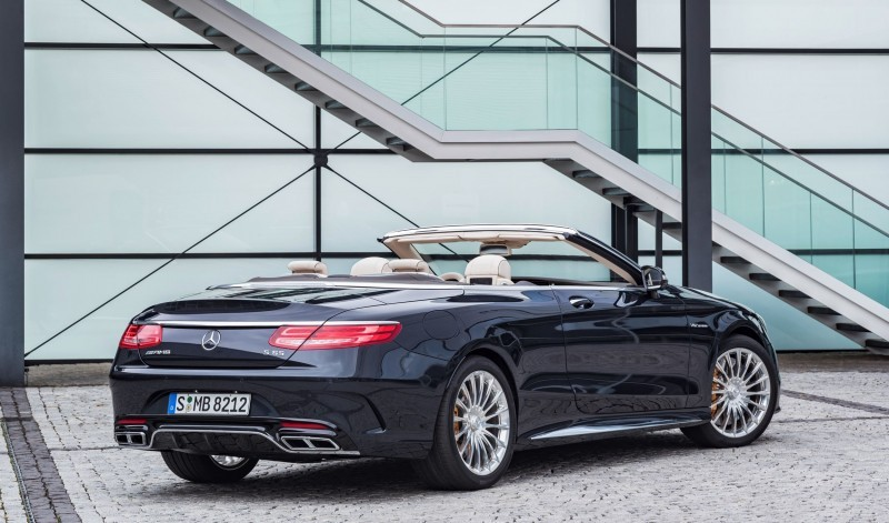 2017 Mercedes-AMG S65 Cabriolet 14