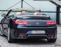 630HP, V12TT 2017 Mercedes-AMG S65 Cabriolet Arrives in May – Bentley GTC and RR Dawn Beware