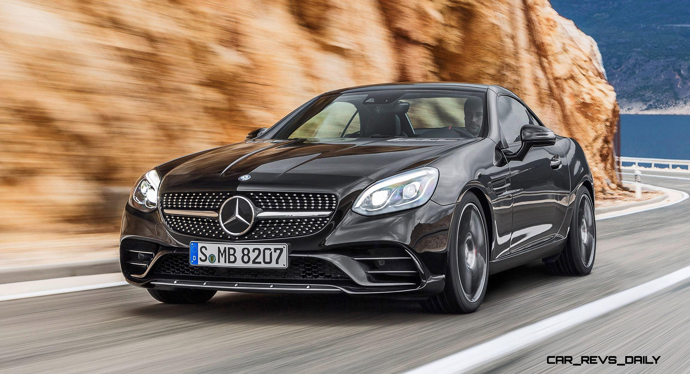 Mercedes benz the new slc new name new dynamic autos post for Mercedes benz name