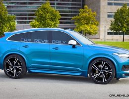 Spec Renderings – 500HP 2018 Volvo XC80 Polestar