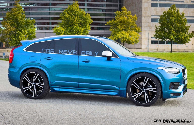 Spec Renderings - 500HP 2018 Volvo XC80 Polestar » Car-Revs