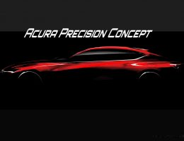 2016 Acura Precision Concept – Teases Next-Gen RLX with Cali-Penned Fastback Coupe