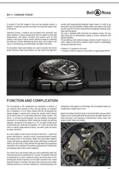 Bell & Ross BR-X1 Presspack Pages 10