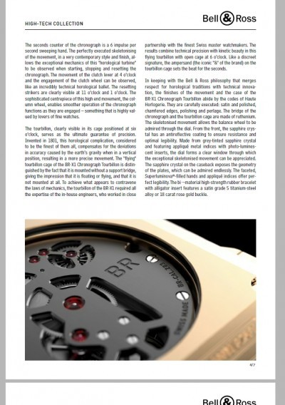 Bell & Ross BR-X1 Presspack Pages 4