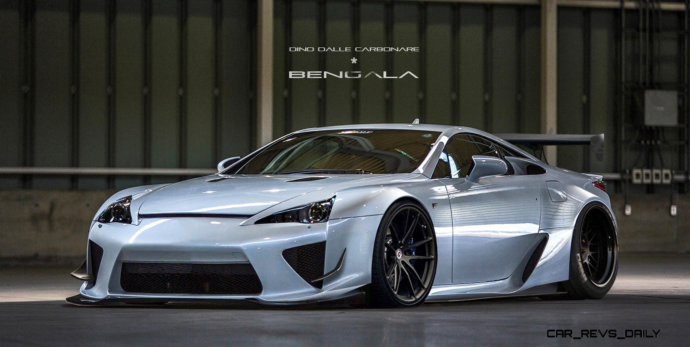 Latest Lexus Cars >> BENGALA Auto Design - Widebody Boutique Prelaunch Gallery