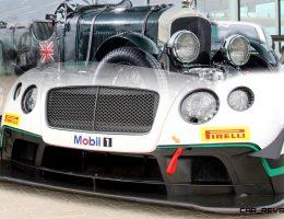 2015 Bentley GT3 Soaks Up Fearless/Fearsome B-Boy Spirit with 1930 Birkin Blower LeMans Icon