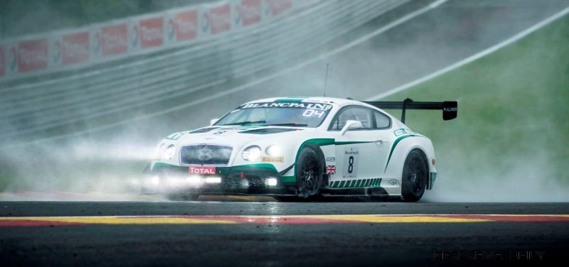 Bentley Continental GT3 - TOTAL 24 Hours of Spa 2015