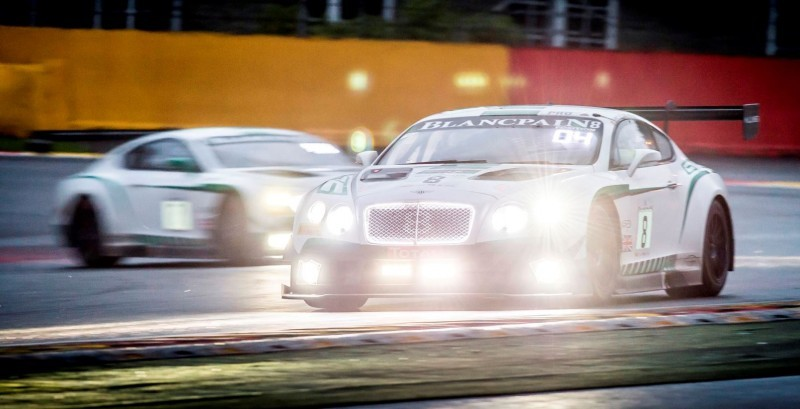 Bentley Continental GT3 - TOTAL 24 Hours of Spa 2015(1)