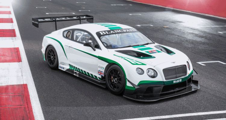 Bentley Continental GT3 gt3r blower