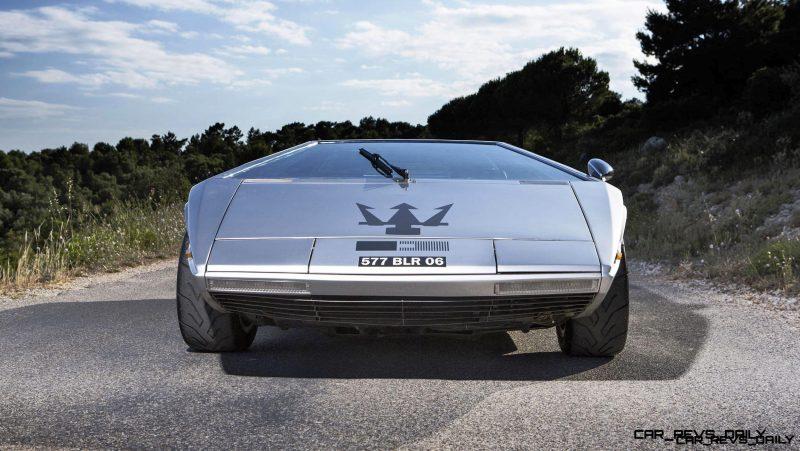Concept Debrief - 1972 Maserati Boomerang by GIUGIARO 18