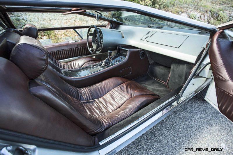 Concept Debrief - 1972 Maserati Boomerang by GIUGIARO 21