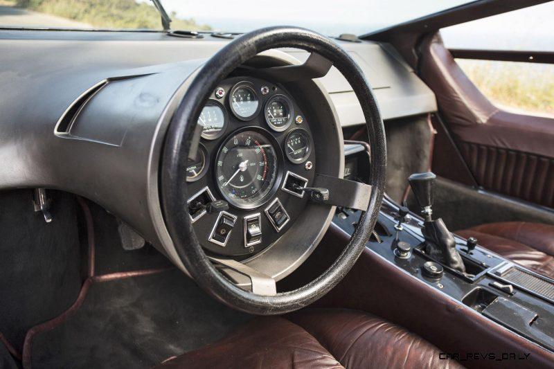 Concept Debrief - 1972 Maserati Boomerang by GIUGIARO 5