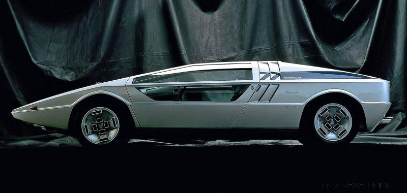 Concept Debrief - 1972 Maserati Boomerang by GIUGIARO 6