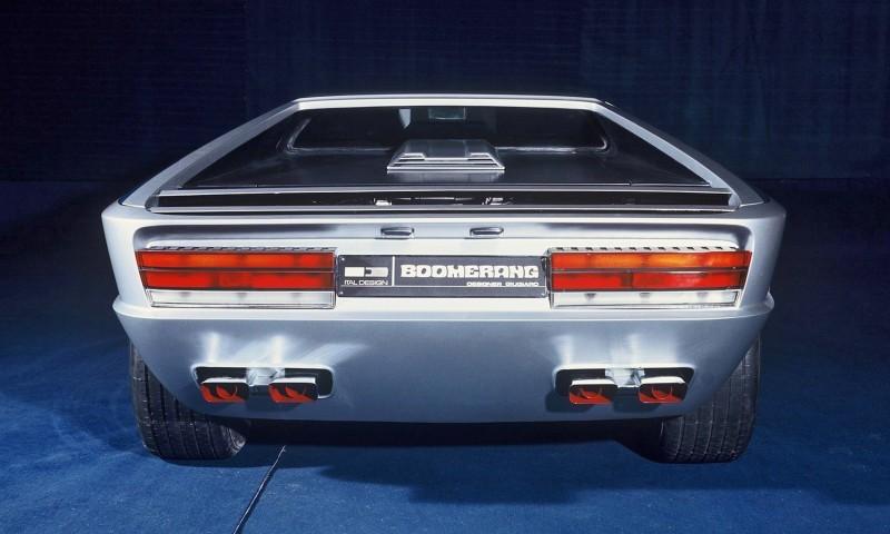 Concept Debrief - 1972 Maserati Boomerang by GIUGIARO 8