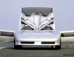 Concept Flashback – 1988 ITALDESIGN Aztec – Twin-Cowl Design Full of Ideas and Impact
