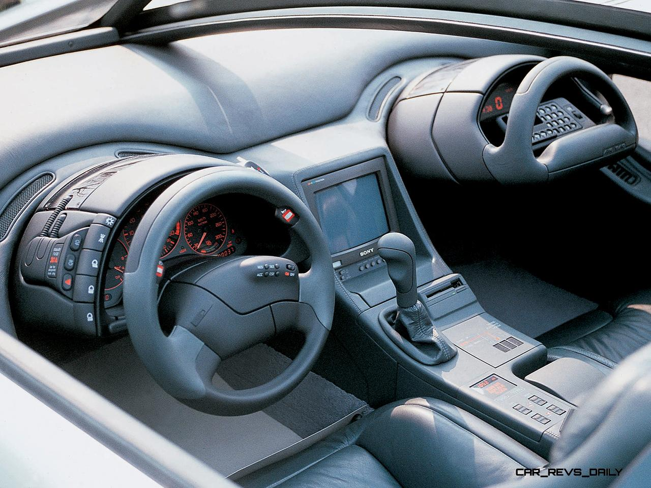 Concept Flashback - 1988 ITALDESIGN Aztec - Twin-Cowl ...