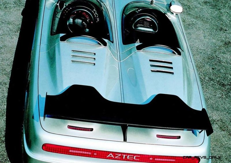 Concept Flashback - 1988 ITALDESIGN Aztec 17