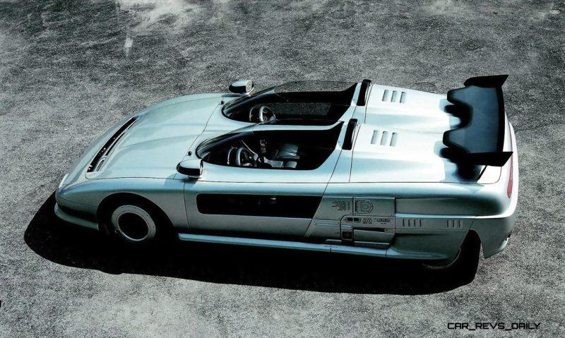 Concept Flashback - 1988 ITALDESIGN Aztec 4