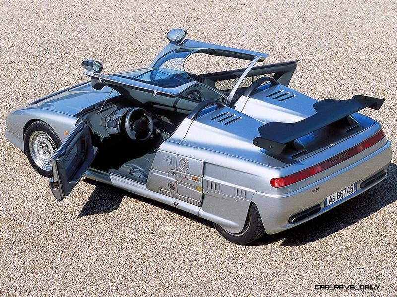 Concept Flashback - 1988 ITALDESIGN Aztec 9