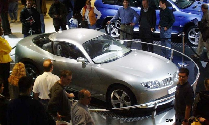 Concept Flashback - 2001 BMW X Coupe 1