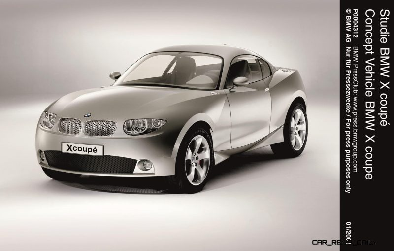 Concept Flashback - 2001 BMW X Coupe 10