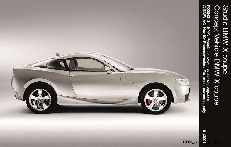 Concept Flashback - 2001 BMW X Coupe 11