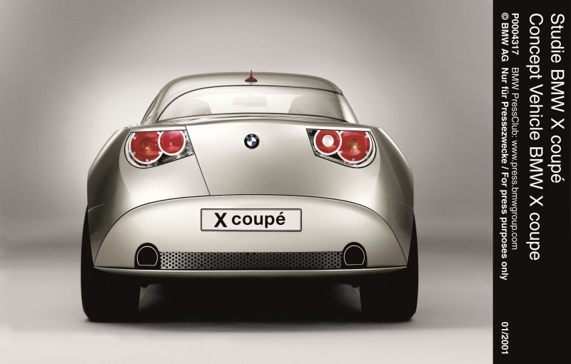 Concept Flashback - 2001 BMW X Coupe 16