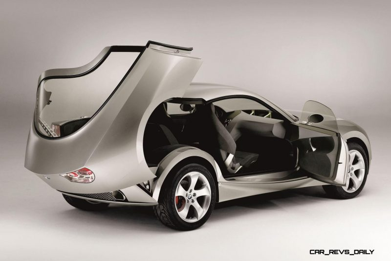 Concept Flashback - 2001 BMW X Coupe 17