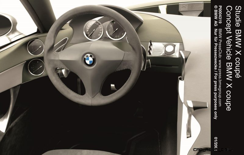 Concept Flashback - 2001 BMW X Coupe 18