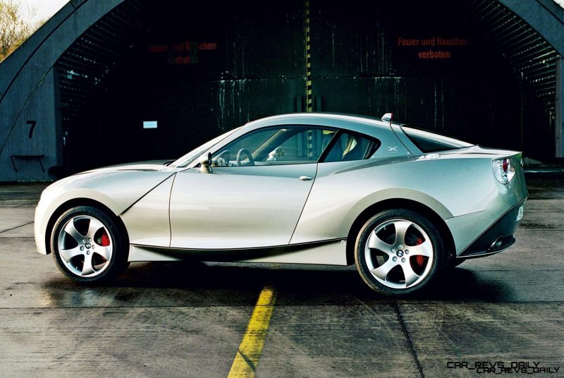 Concept Flashback - 2001 BMW X Coupe 4