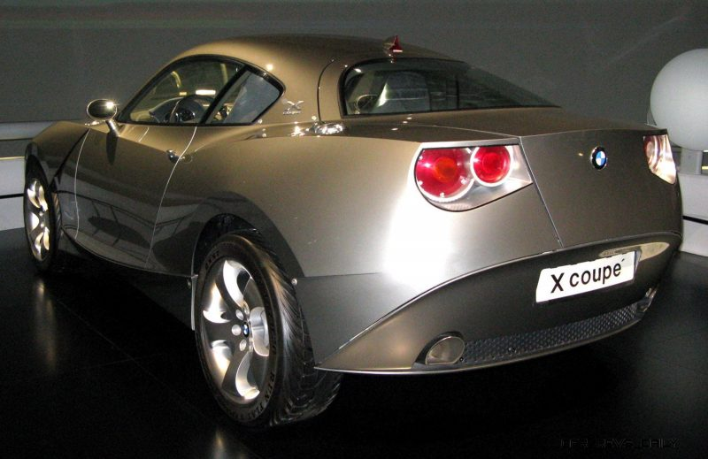 Concept Flashback - 2001 BMW X Coupe 6