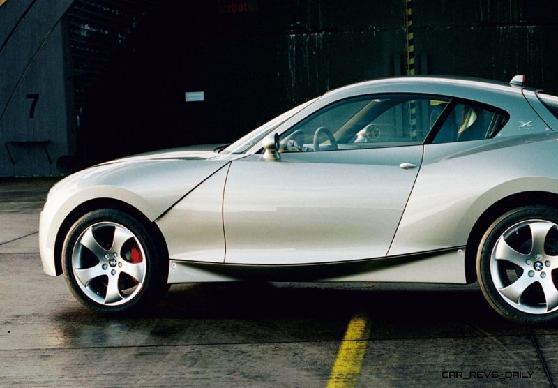 Concept Flashback - 2001 BMW X Coupe 7
