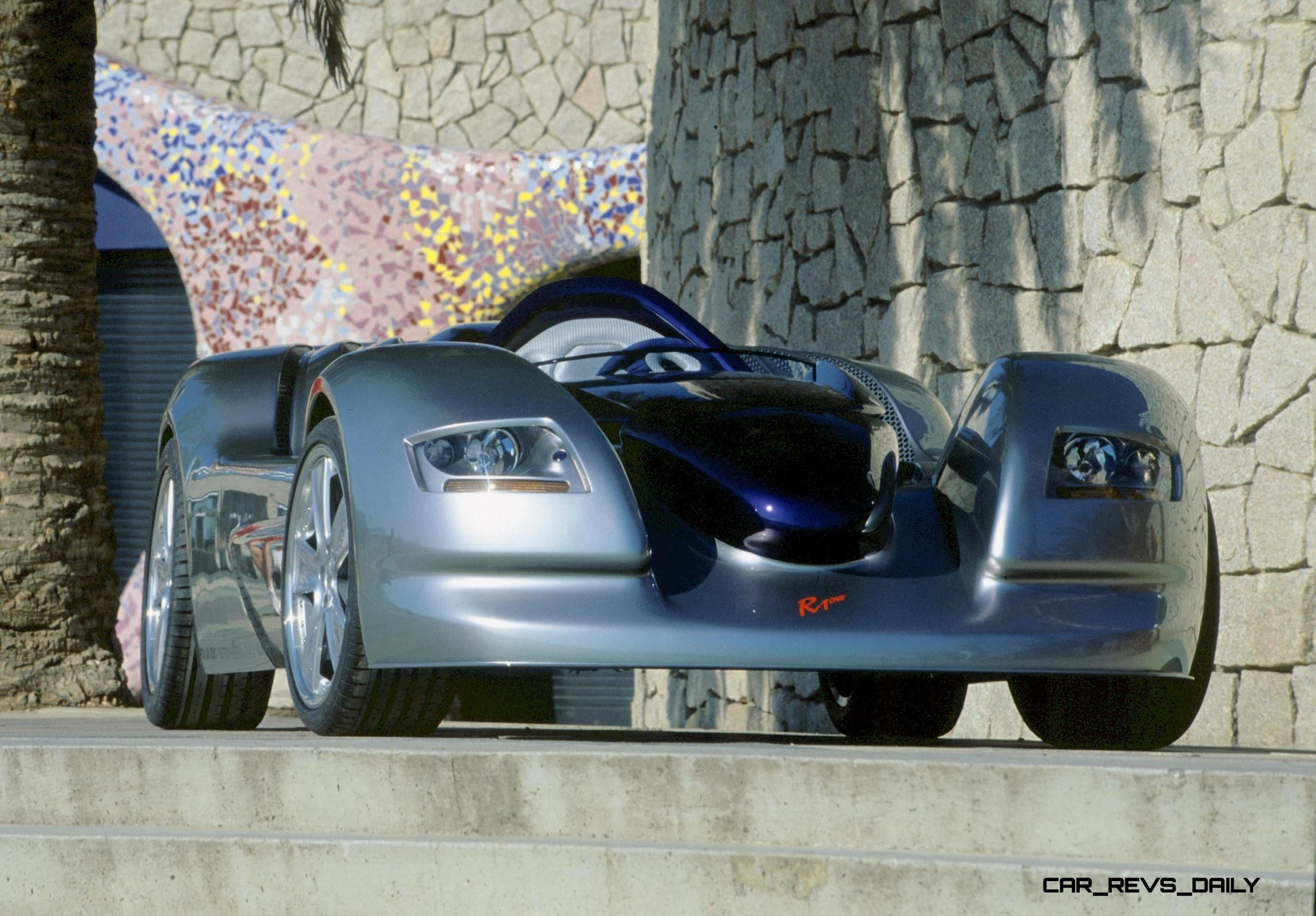 Concept Flashback - 2001 RINSPEED Rone - Single-Seater Debuted ...