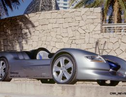 Concept Flashback – 2001 RINSPEED Rone – Single-Seater Debuted Dynamic Cockpit Control