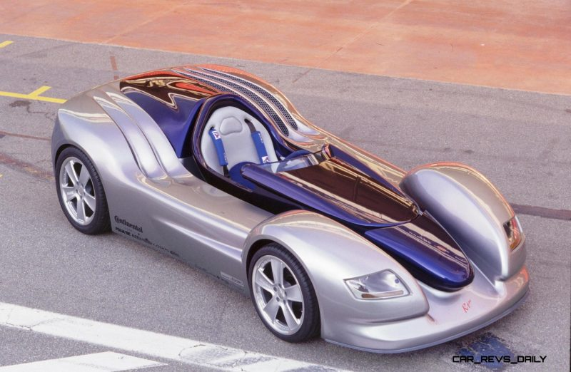 Concept Flashback - 2001 RINSPEED Rone - Single-Seater Debuted Dynamic Cockpit Control Concept Flashback - 2001 RINSPEED Rone - Single-Seater Debuted Dynamic Cockpit Control