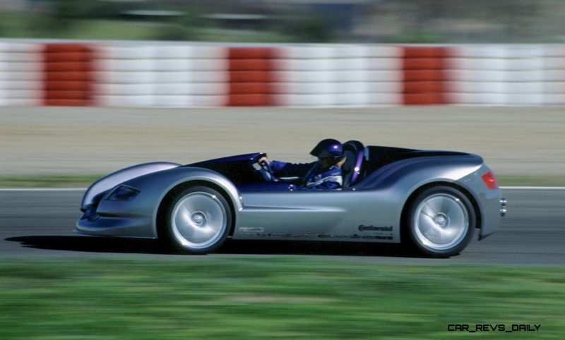 Concept Flashback 2001 Rinspeed Rone Single Seater Debuted