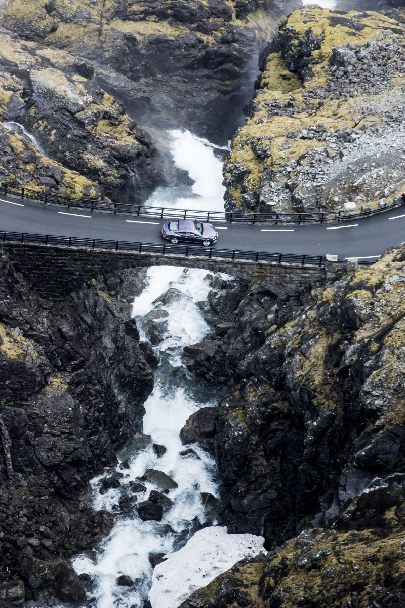 Bentley Continental GT launch, Norway, June 2015 Trollstigen Road, Norway Photo: James Lipman / jameslipman.com