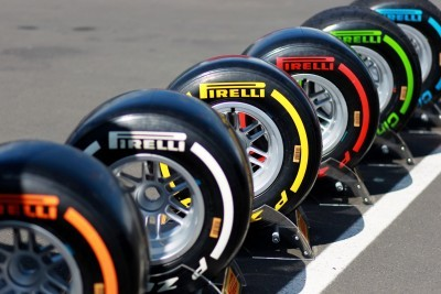 F1 Pirelli Tire Colors 4