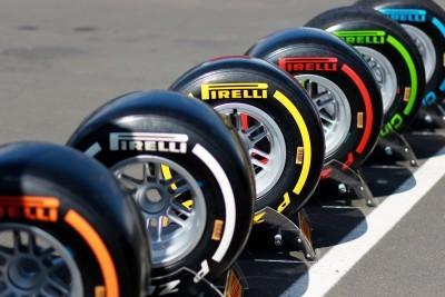 F1 Pirelli Tire Colors 4