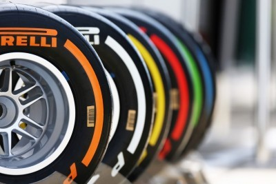 F1 Pirelli Tire Colors 5