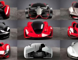 Ferrari Design Challenge 2015 – Vote Your Future Hypercar Style!