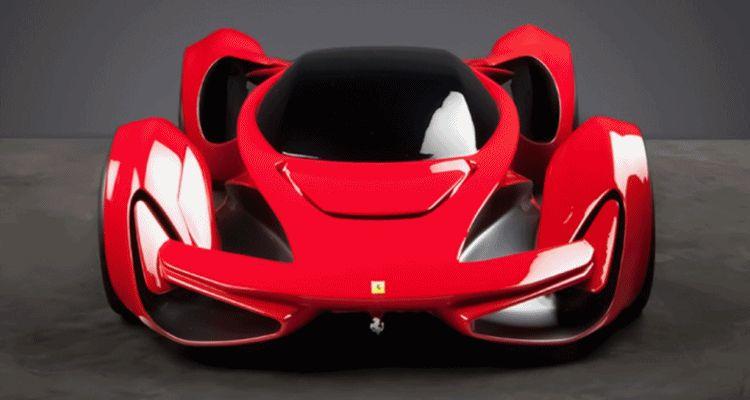 Ferrari Design Challenge 2015 nose animation