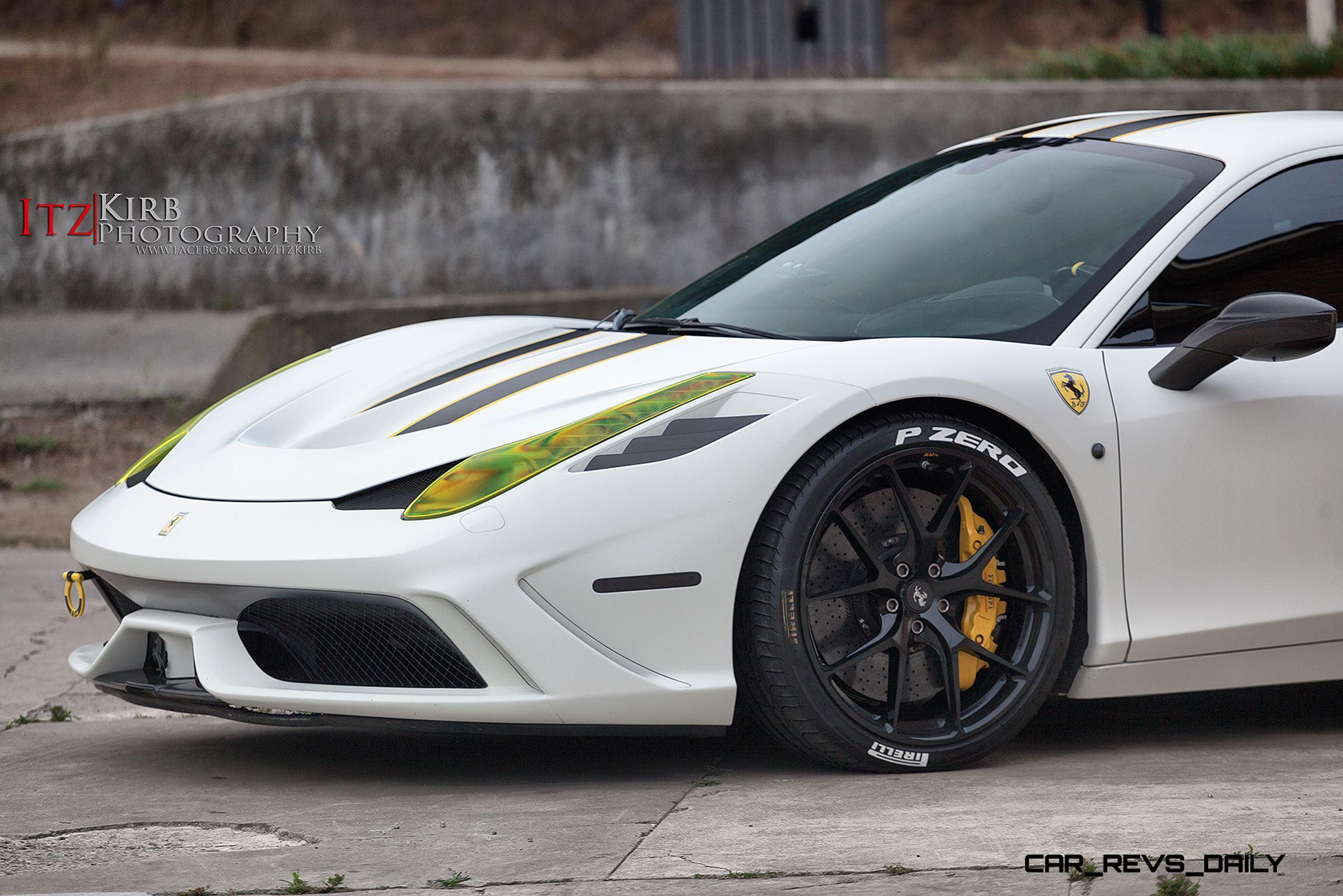 2015 Ferrari 458 Speciale >> TrendWatch - Stenciled Tires Escape Racetrack, Sex Up ...