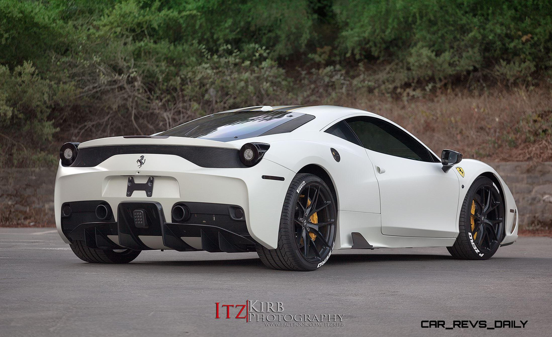2015 Ferrari 458 Speciale >> TrendWatch - Stenciled Tires Escape Racetrack, Sex Up ...