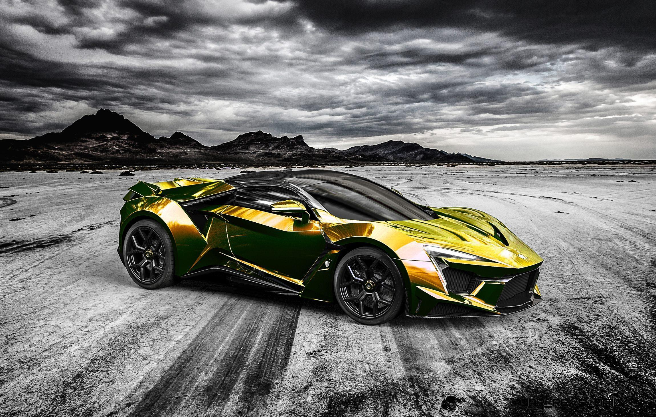 2016 W Motors FENYR SuperSport COLORS