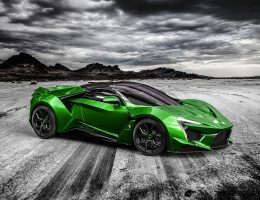 2016 W Motors FENYR SuperSport COLORS – Fantasy Visualizer in 75 Custom Shades