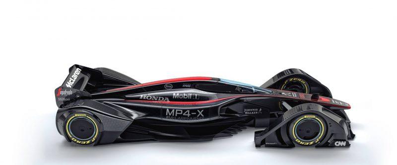 McLaren MP4-X  12